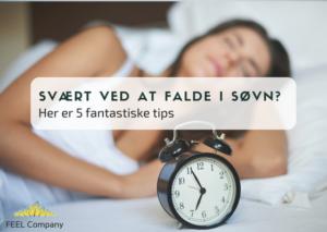 Svært ved at falde i søvn? Få 5 fantastiske tips og en gratis meditation der hjælper dig.